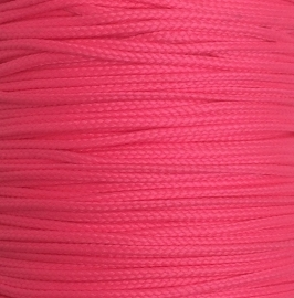 Koord 0,8 of 1,5 mm Neon Roze