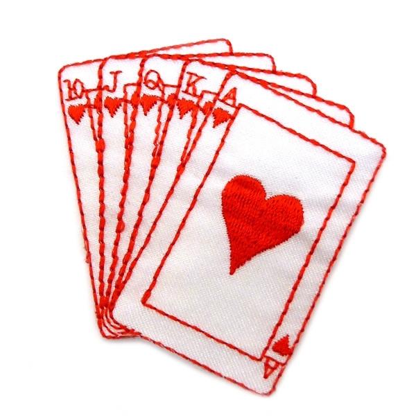 Patch - Strijkplaatje kaartspel
