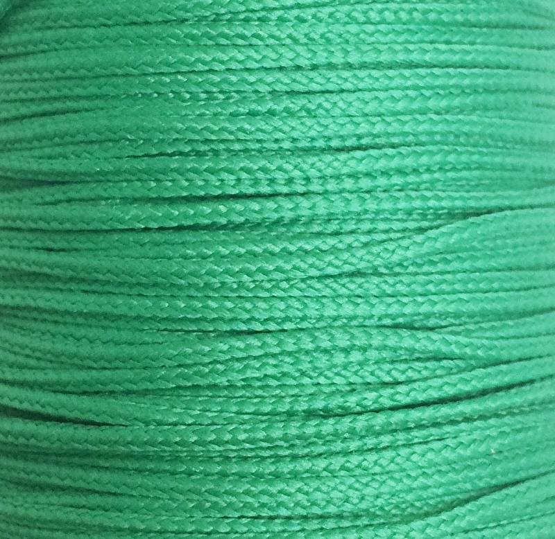 Koord 0,8 of 1,5 mm Zeegroen
