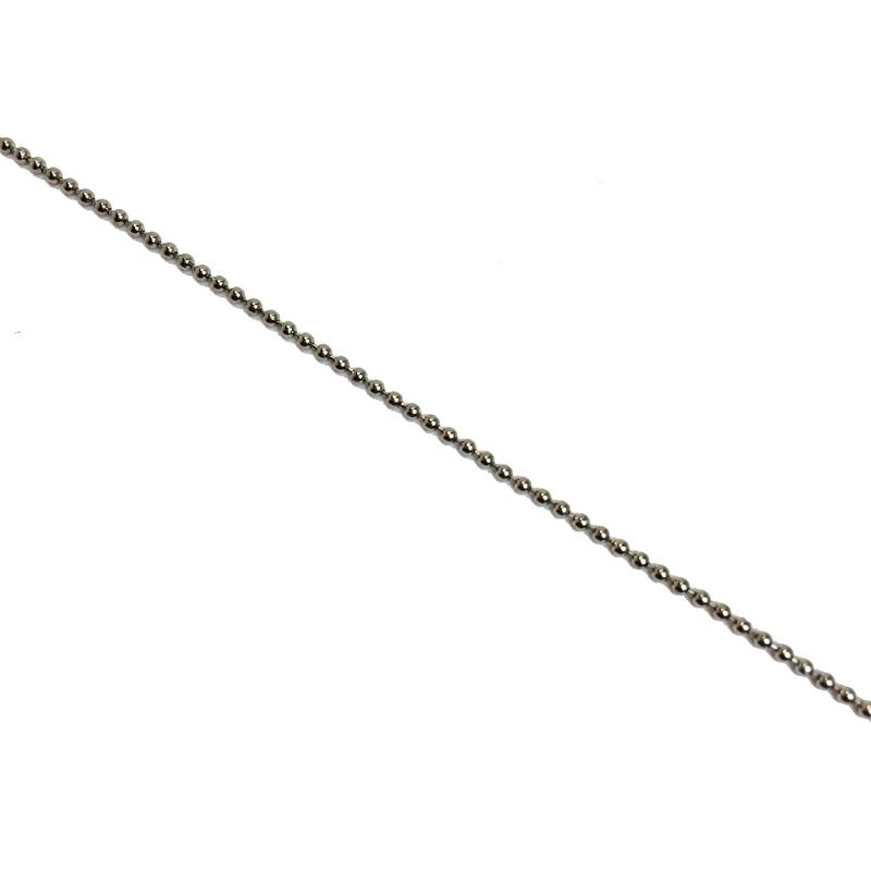 Ballchain Zilver 1,2mm
