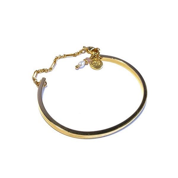 Armband Bangle fijn verguld