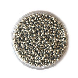 Doosje Rocailles Seadbeads 2,5mm Zilver