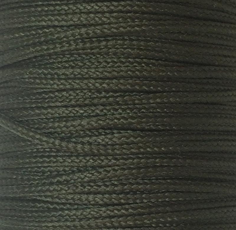 Koord 1,5 mm Olijfgroen Donker