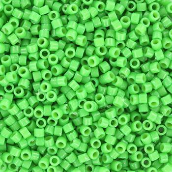 Miyuki Delica duracoat opaque dyed Fiji Green