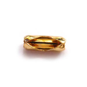 Slotje Ballchain 1,2mm of 1,5mm goud