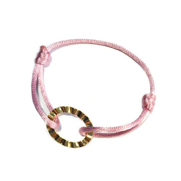 Armband Cartierknoop Roze