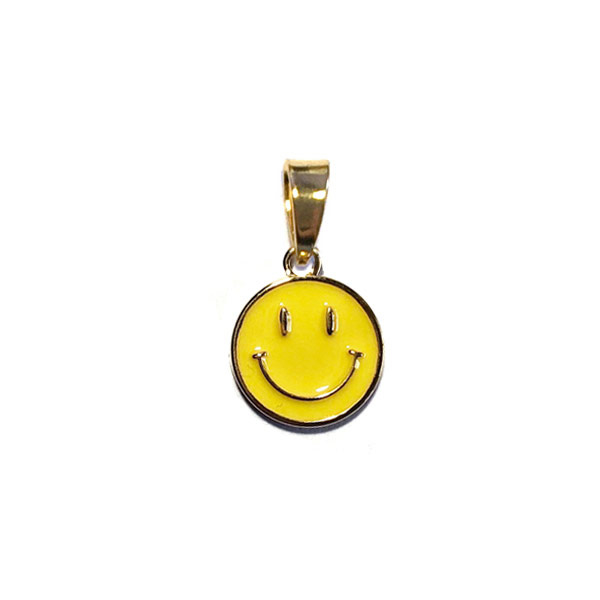 Bedel Smiley Geel goud