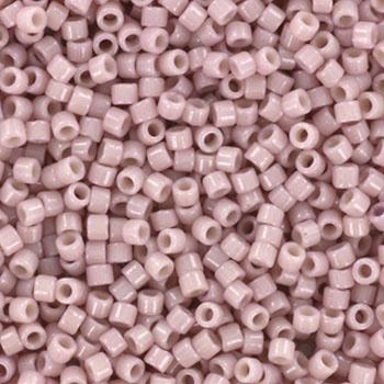 Miyuki Delica Duracoat opaque soft baby pink 2mm