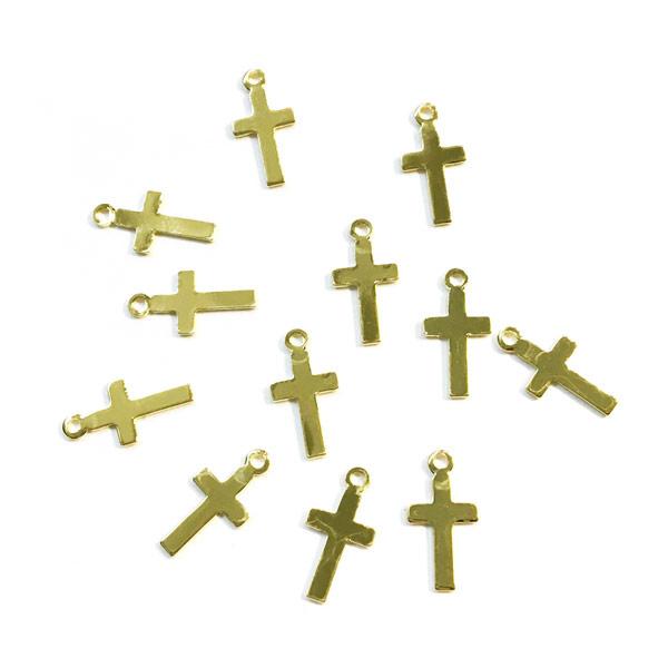 Bedel klein kruisje goud