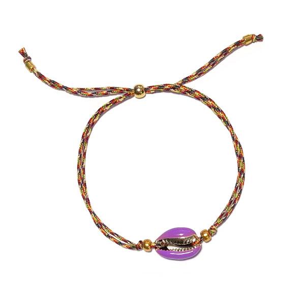 Armband Kauri Lila Koord