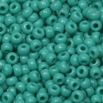 Miyuki rocailles 8/0 - Opaque turquoise green
