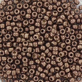 Miyuki Rocailles 11/0 duracoat mat mauve bruin