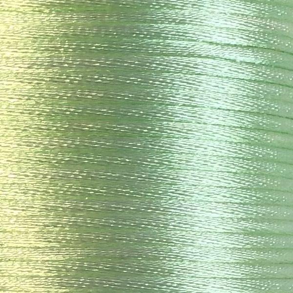 Satijnkoord 2,5mm Mintgroen pastel cartierknoop