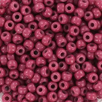 Miyuki Rocailles 8/0 Duracoat opaque pansy framboos roze