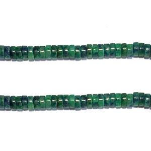 Schijfje half edelsteen african jade