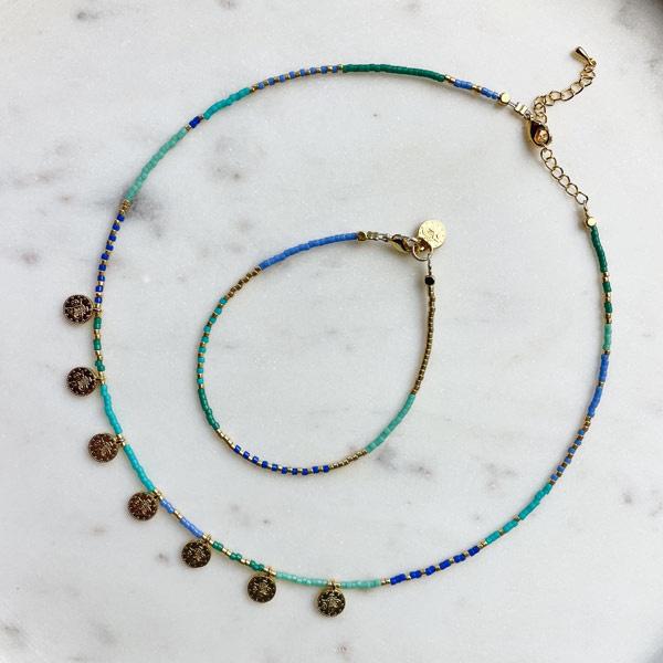 DIY pakket sieraden maken Miyuki ketting & armband