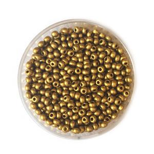 Doosje Rocailles Seadbeads 2,5mm Goud