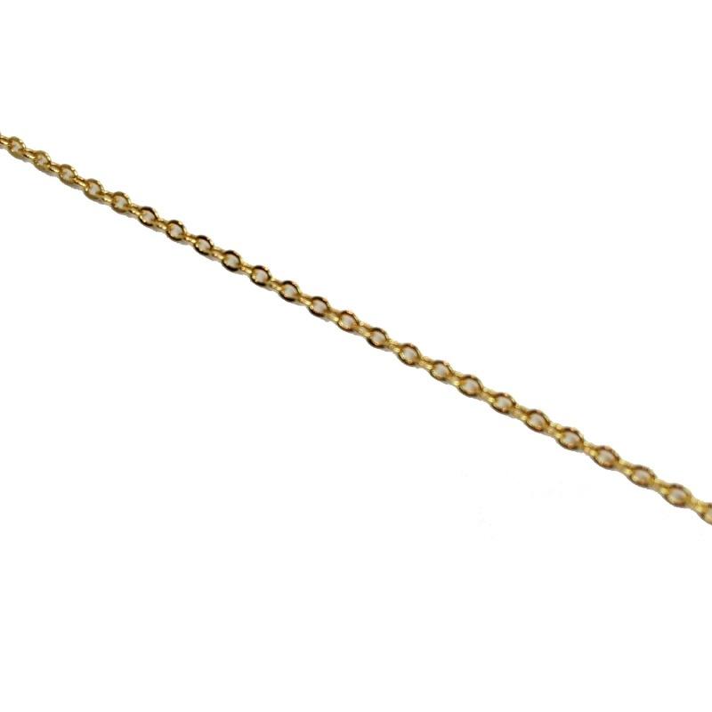 Schakelketting Verguld 1,5 mm