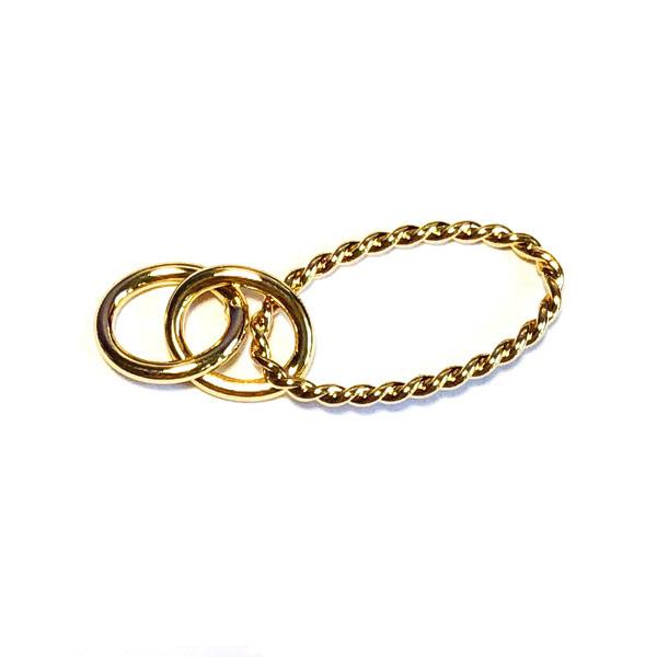 Connector Schakel goud