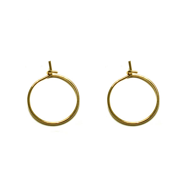 Oorring goud 12mm