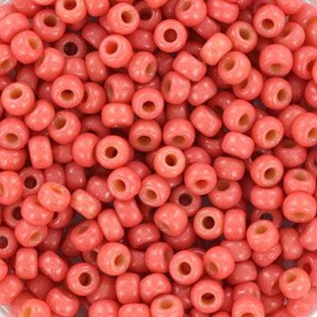 Miyuki Rocailles 8/0 Duracoat Opaque Watermelon Koraal