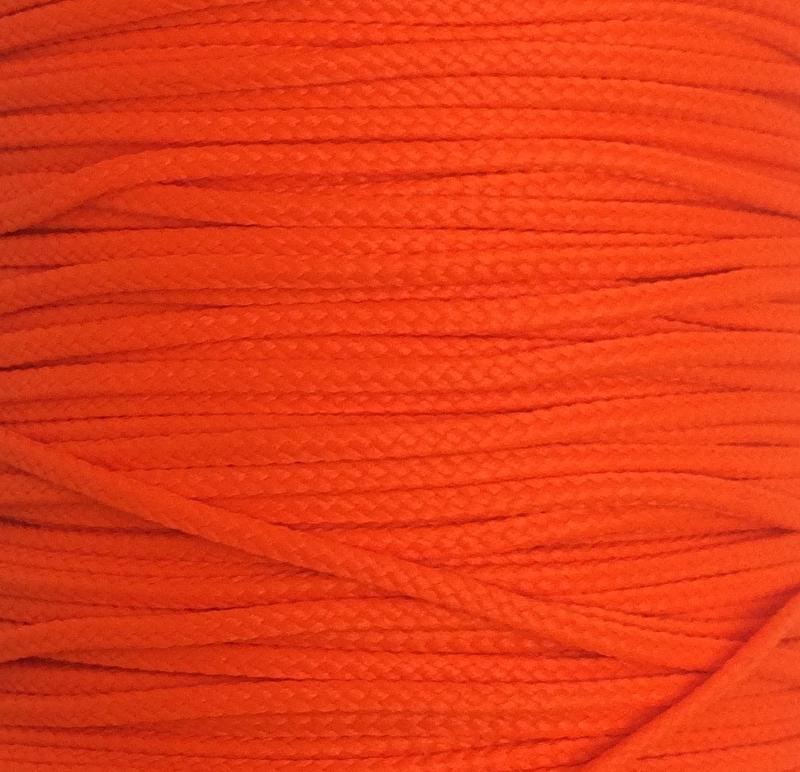 Koord 0,8 of 1,5 mm Neon Oranje