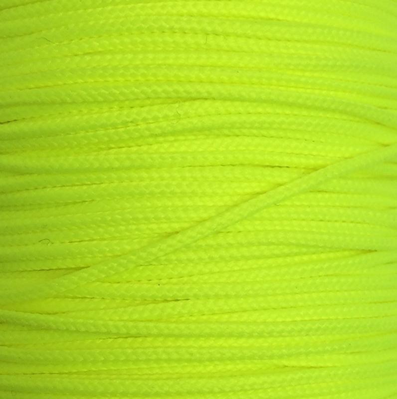 Koord 0,8 of 1,5 mm Neon Geel