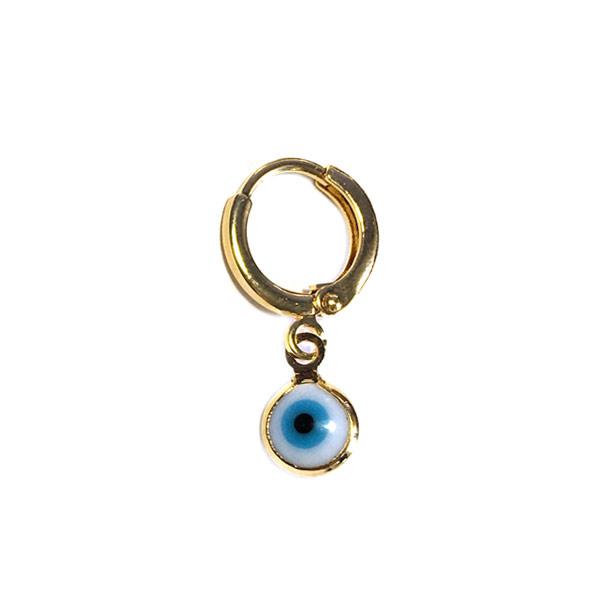 Earparty oorbel Evil eye Blauw wit