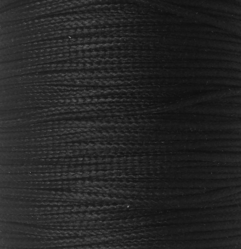 Koord 1mm of 1,5mm Zwart