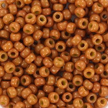 Miyuki Rocailles 8/0 Caramel bruin