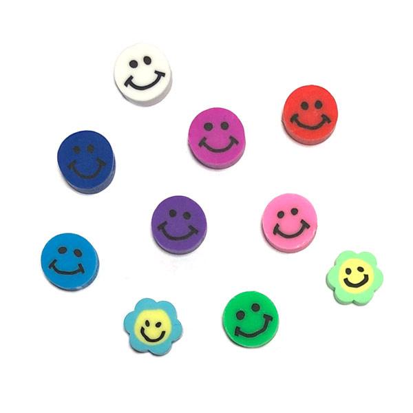 Smiley kralen mix