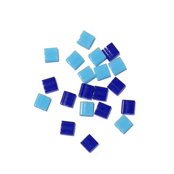 Miyuki Tila 5 x 5mm Blauw turkoois