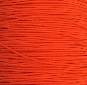 Elastiek Neon Oranje 0,8 mm
