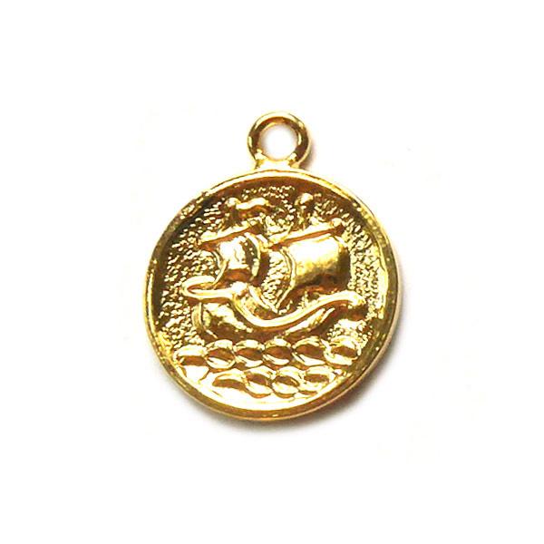 Bedel Schip op zee Goud