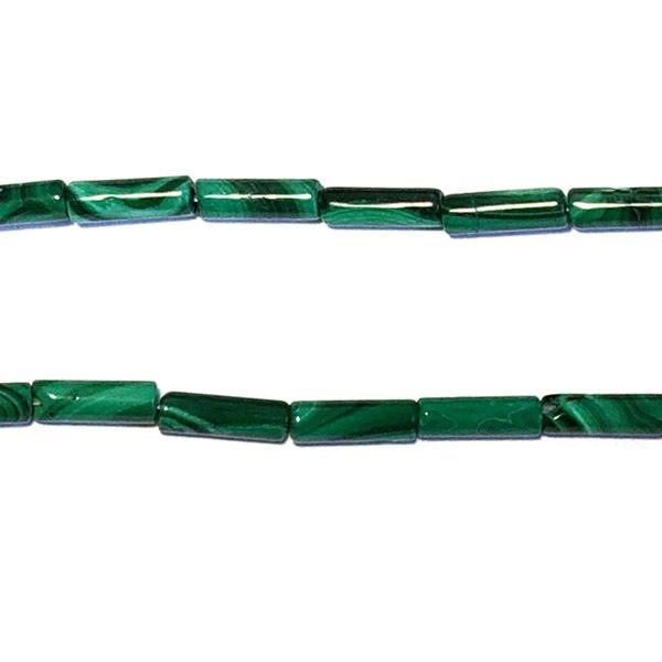 Malachiet groen Halfedelsteen kraal staafje