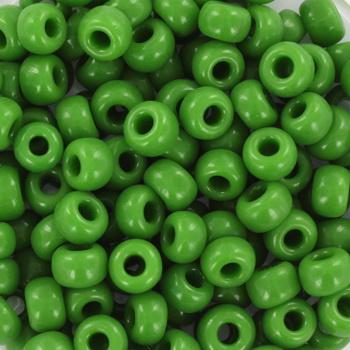 Miyuki Rocailles 6/0 Opaque groen