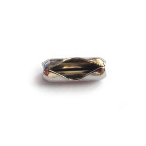 Slotje Ballchain 2mm zilver