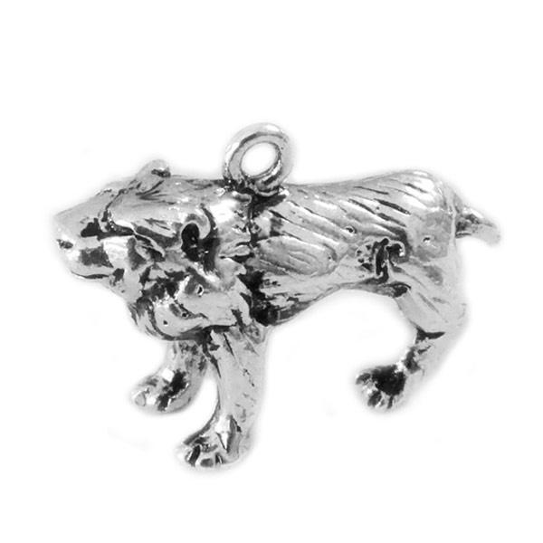 Bedel leeuw zilver
