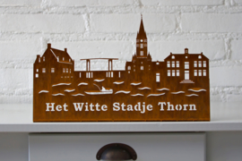 Skyline Thorn met Tekst   332 x 203 mm