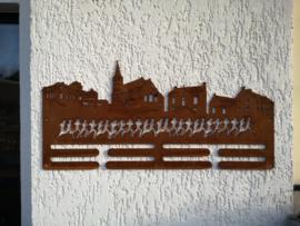 Skyline-Beesel-Medaille-Hanger 458 x 216mm