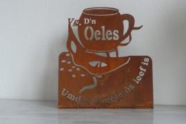 D'n-Oeles-Staander 151 x 166 mm