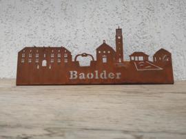 Skyline Baarlo met Tekst 389 x 158mm