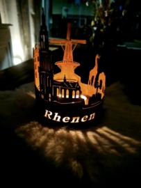 Skyline-Rhenen-Waxinelicht