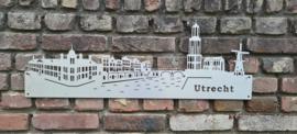 Skyline-Utrecht-Hanger-Klein-RVS 730 x 257mm