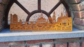 Skyline Maastricht Deluxe met Tekst 454 x 142mm