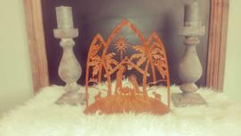 Staander Kerststal/  kerstkrib 337×339mm