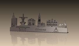 Skyline-Rhenen-Deluxe-RVS 682 x 213mm