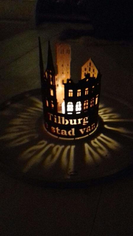 Waxinelicht Tilburg Ø 106 x 271mm