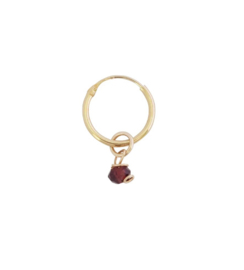 Classic garnet earring - Bobby Rose