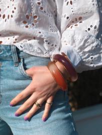 Gas Bijoux Zefa Torsade bracelet acetate
